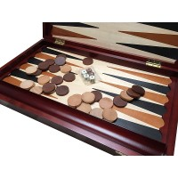 Joc table/backgammon din lemn