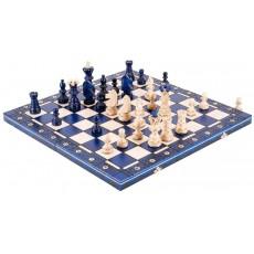 Set șah traditional AMBASADOR BLUE -new line