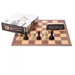 Set DGT Starter Chess Box Brown