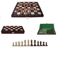 Șah Magnetic din lemn