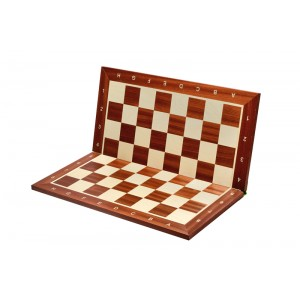 Tablă șah pliabilă nr 6 Mahon/Sicamor