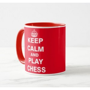 Cană Keep Calm Red